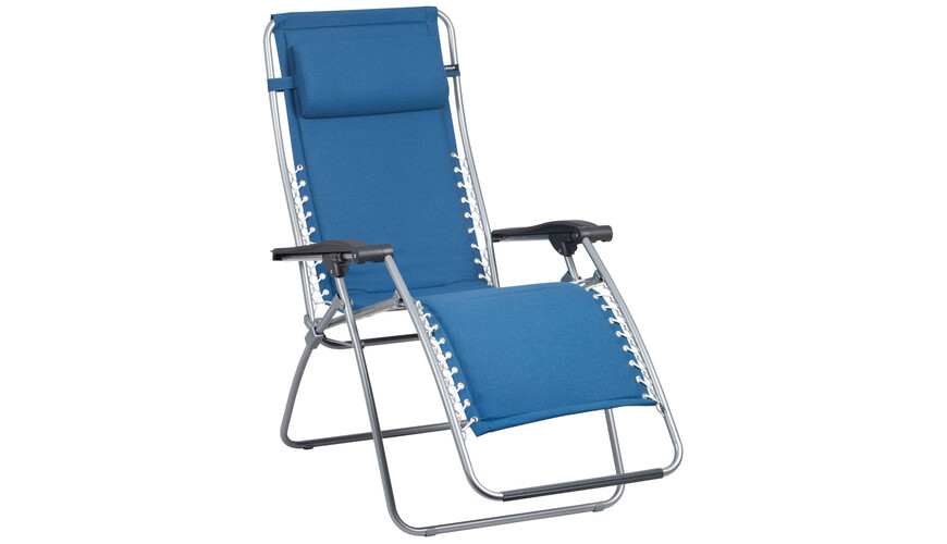 Lafuma Mobilier RSX Campingstol Padded Polycotton blå